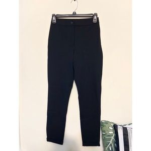 PacSun Black High-Waisted Stretchy Pants (S)